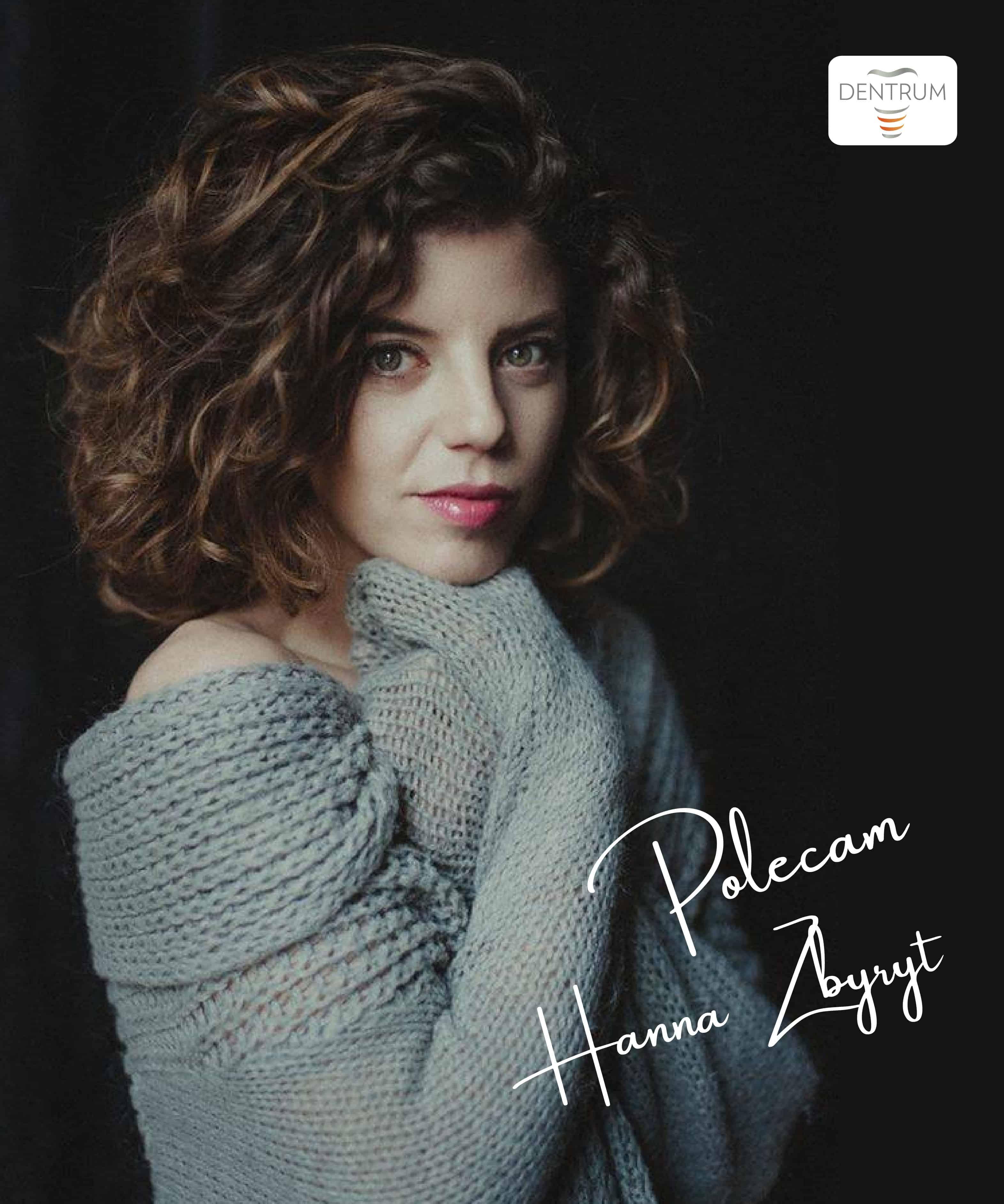 Hanna Zbyryt Poleca Zdjęcie z autografem